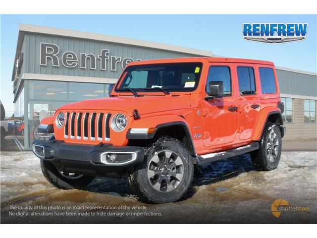 2019 Jeep Wrangler Unlimited Sahara (Stk: K154) in Renfrew - Image 2 of 20