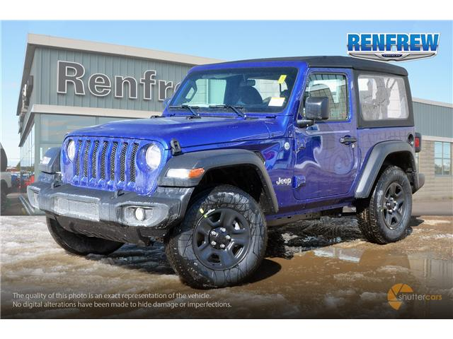 2019 Jeep Wrangler Sport (Stk: K157) in Renfrew - Image 2 of 20