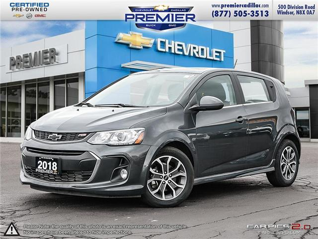 2018 Chevrolet Sonic LT Auto (Stk: P18272) in Windsor - Image 1 of 30