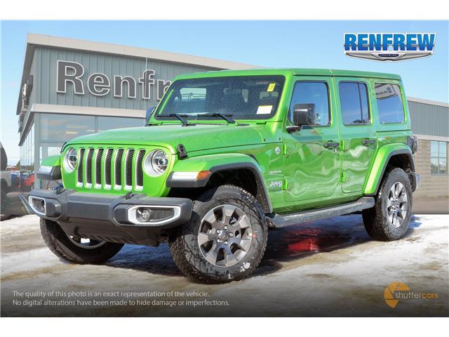 2019 Jeep Wrangler Unlimited Sahara (Stk: K158) in Renfrew - Image 2 of 17