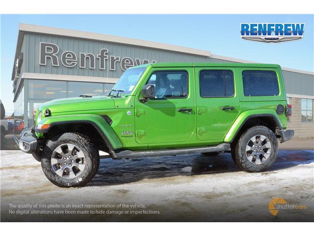 2019 Jeep Wrangler Unlimited Sahara (Stk: K158) in Renfrew - Image 3 of 17