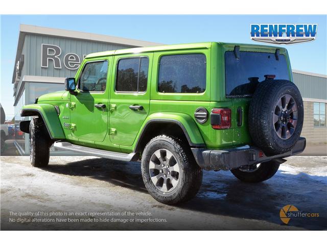 2019 Jeep Wrangler Unlimited Sahara (Stk: K158) in Renfrew - Image 4 of 17