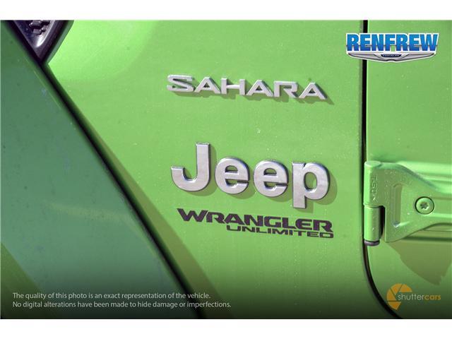 2019 Jeep Wrangler Unlimited Sahara (Stk: K158) in Renfrew - Image 5 of 17