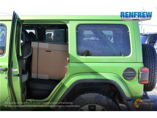 2019 Jeep Wrangler Unlimited Sahara (Stk: K158) in Renfrew - Image 8 of 17