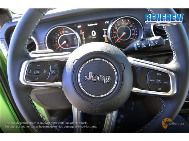 2019 Jeep Wrangler Unlimited Sahara (Stk: K158) in Renfrew - Image 11 of 17