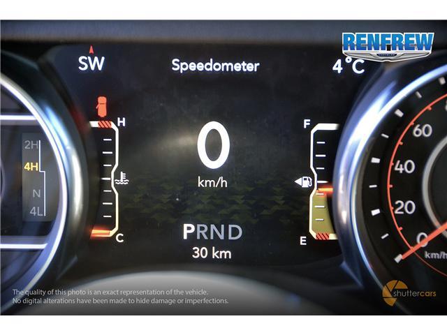 2019 Jeep Wrangler Unlimited Sahara (Stk: K158) in Renfrew - Image 12 of 17