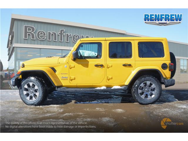 2019 Jeep Wrangler Unlimited Sahara (Stk: K159) in Renfrew - Image 3 of 20