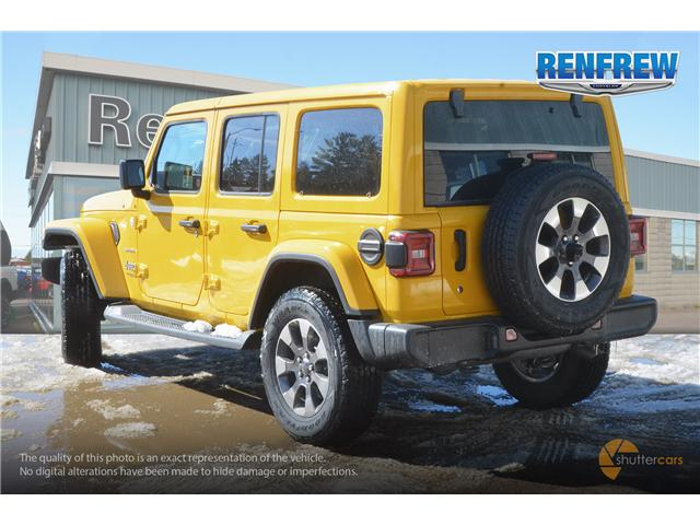 2019 Jeep Wrangler Unlimited Sahara (Stk: K159) in Renfrew - Image 4 of 20