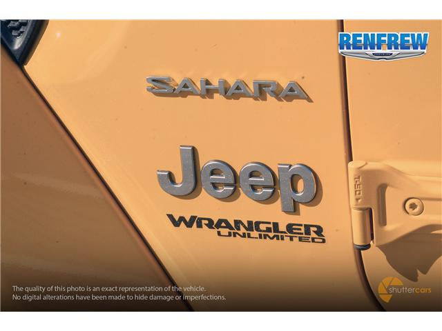 2019 Jeep Wrangler Unlimited Sahara (Stk: K159) in Renfrew - Image 5 of 20