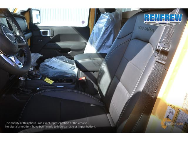 2019 Jeep Wrangler Unlimited Sahara (Stk: K159) in Renfrew - Image 10 of 20