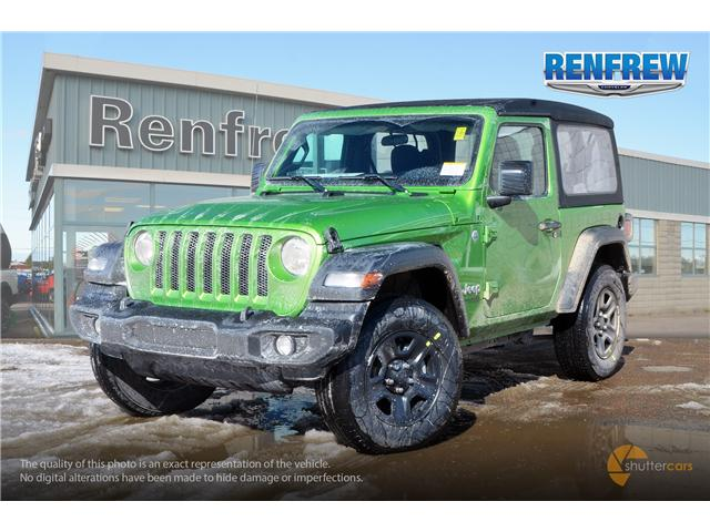 2019 Jeep Wrangler Sport (Stk: K160) in Renfrew - Image 2 of 20