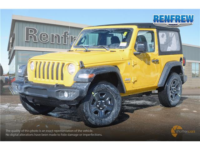 2019 Jeep Wrangler Sport (Stk: K161) in Renfrew - Image 2 of 20