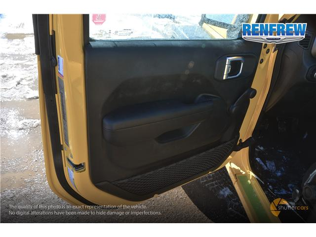 2019 Jeep Wrangler Sport (Stk: K161) in Renfrew - Image 7 of 20