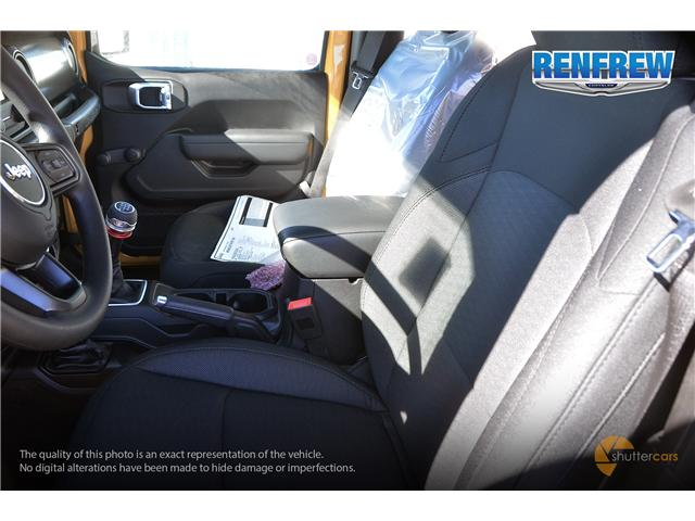 2019 Jeep Wrangler Sport (Stk: K161) in Renfrew - Image 9 of 20