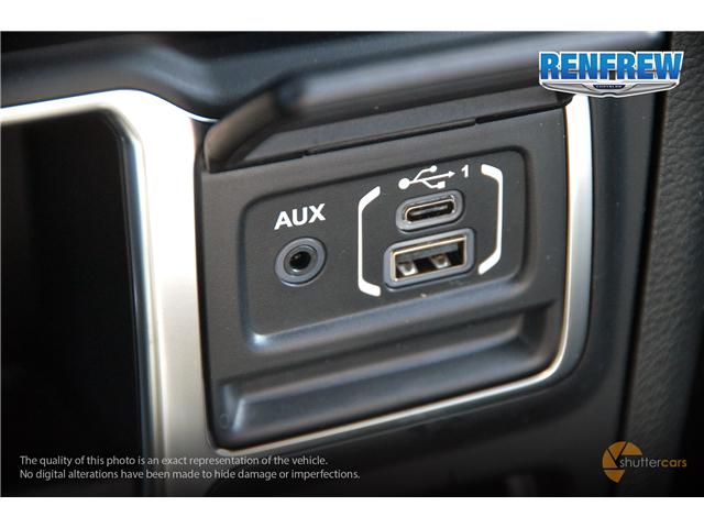 2019 Jeep Wrangler Sport (Stk: K161) in Renfrew - Image 17 of 20
