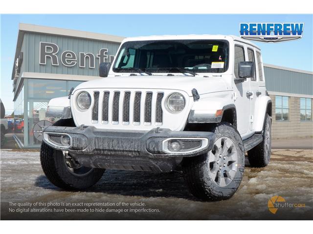 2019 Jeep Wrangler Unlimited Sahara (Stk: K163) in Renfrew - Image 1 of 20