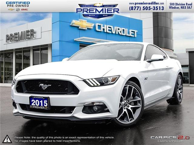 2015 Ford Mustang  (Stk: P18234AA) in Windsor - Image 1 of 28
