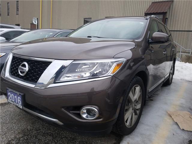 2016 Nissan Pathfinder Platinum (Stk: 39028A) in Mississauga - Image 1 of 11
