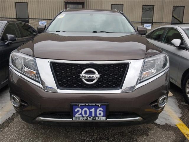 2016 Nissan Pathfinder Platinum (Stk: 39028A) in Mississauga - Image 2 of 11