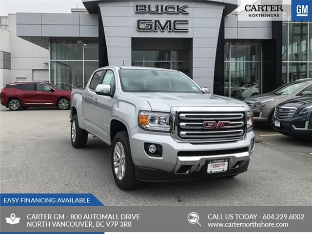 2019 GMC Canyon SLT (Stk: 9CN38780) in North Vancouver - Image 1 of 12