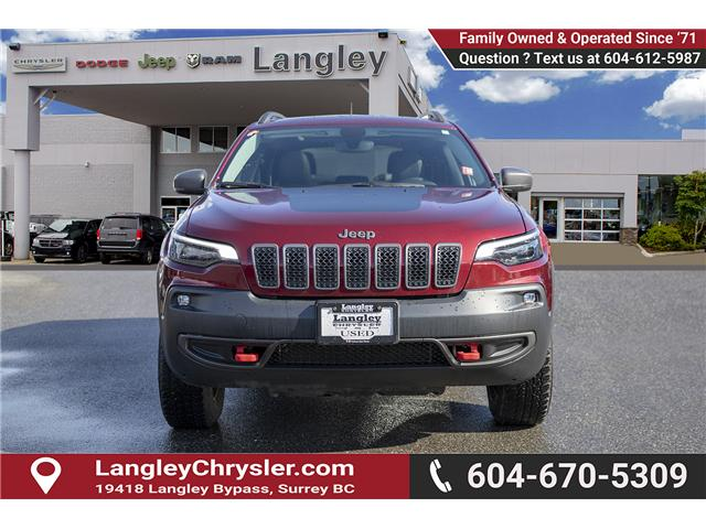 2019 Jeep Cherokee Trailhawk (Stk: EE901440) in Surrey - Image 2 of 25