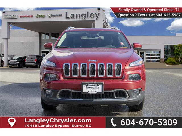 2016 Jeep Cherokee Limited (Stk: K209464A) in Surrey - Image 2 of 25