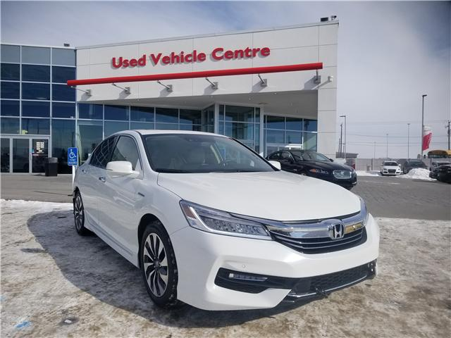 2017 Honda Accord Hybrid Touring (Stk: 6181440A) in Calgary - Image 1 of 30