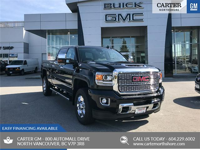 2019 GMC Sierra 3500HD Denali (Stk: 9R06440) in North Vancouver - Image 1 of 12