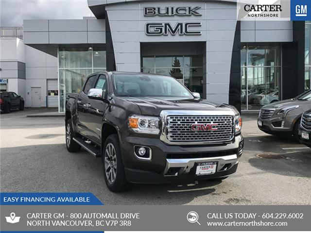 2019 GMC Canyon Denali (Stk: 9CN70860) in North Vancouver - Image 1 of 13