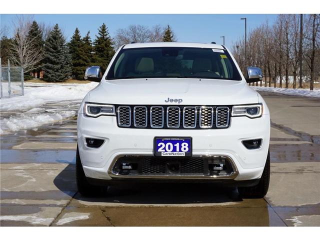 2018 Jeep Grand Cherokee OVERLAND| ECODIESEL| ACTIVE SAFETY GRP & MORE (Stk: J1265L) in Burlington - Image 2 of 30