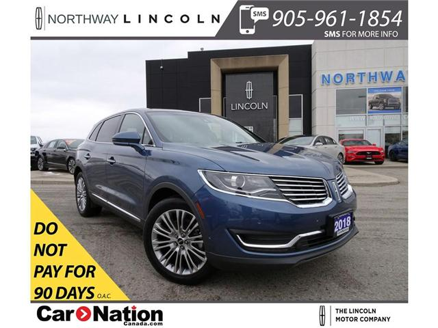 2018 Lincoln MKX Reserve | NAV | 360° CAM | PANO ROOF | HTD LEATHER (Stk: P5111) in Brantford - Image 1 of 30