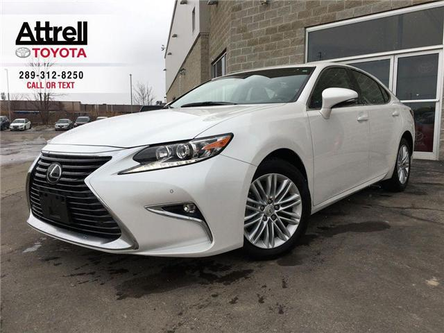 2018 Lexus ES 350 A PKG LEATHER, SUNROOF, ALLOYS, BACK UP CAMERA (Stk: 8569) in Brampton - Image 1 of 27
