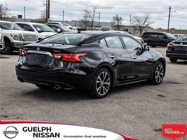 2018 Nissan Maxima  (Stk: N19231) in Guelph - Image 4 of 23
