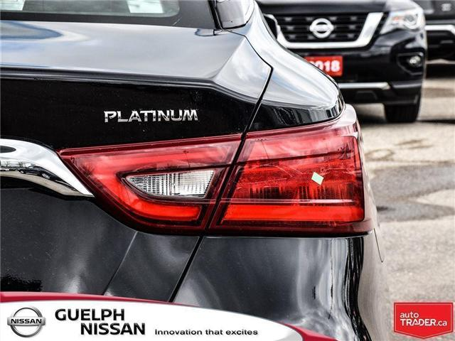 2018 Nissan Maxima  (Stk: N19231) in Guelph - Image 9 of 23