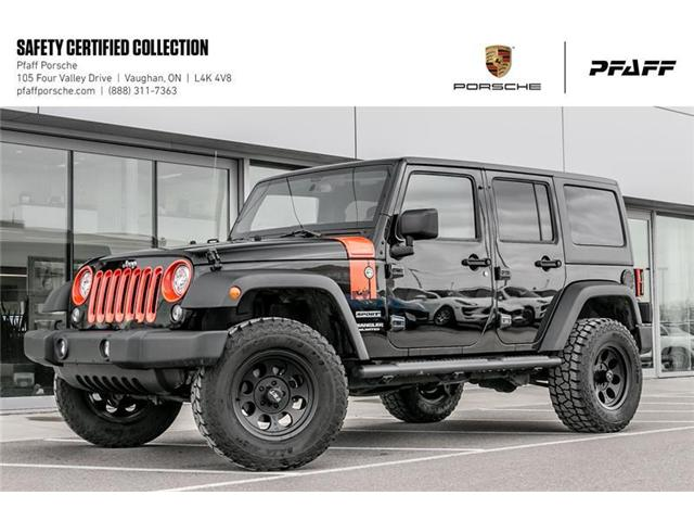 2017 Jeep Wrangler Unlimited Sport (Stk: U7745) in Vaughan - Image 1 of 20