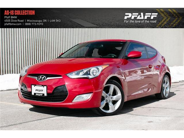 2013 Hyundai Veloster Base (Stk: U5335) in Mississauga - Image 1 of 20