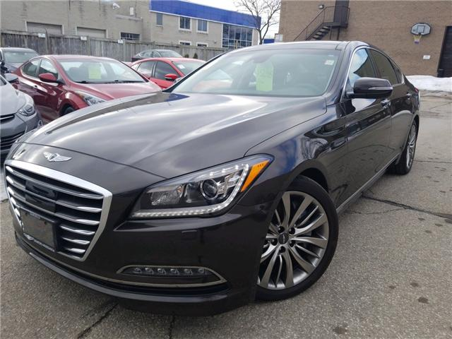 2017 Genesis G80 5.0 Ultimate (Stk: OP9920) in Mississauga - Image 1 of 16