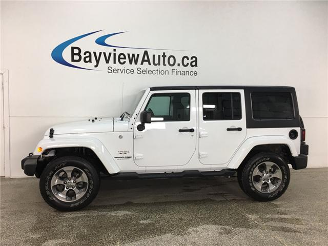 2018 Jeep Wrangler JK Unlimited Sahara (Stk: 34519W) in Belleville - Image 1 of 22