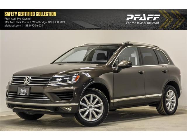 2015 Volkswagen Touareg 3.6L Comfortline (Stk: C6542A) in Woodbridge - Image 1 of 22