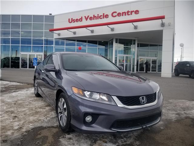 2014 Honda Accord EX-L-NAVI (Stk: U194090) in Calgary - Image 1 of 27
