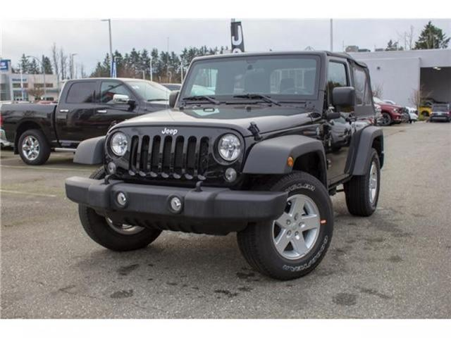 2017 Jeep Wrangler Sport (Stk: H650208) in Abbotsford - Image 3 of 23
