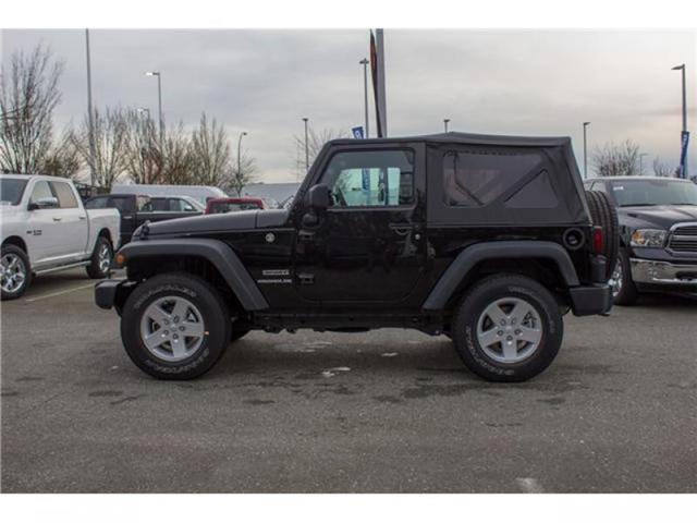 2017 Jeep Wrangler Sport (Stk: H650208) in Abbotsford - Image 4 of 23
