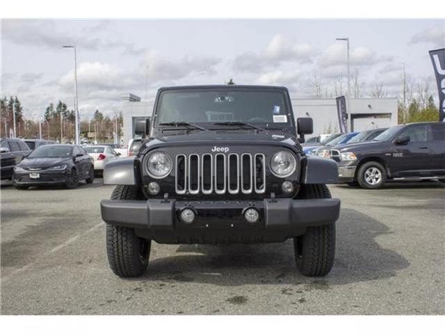 2018 Jeep Wrangler JK Unlimited Sahara (Stk: J863956) in Abbotsford - Image 2 of 22