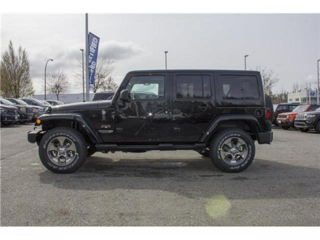 2018 Jeep Wrangler JK Unlimited Sahara (Stk: J863956) in Abbotsford - Image 4 of 22