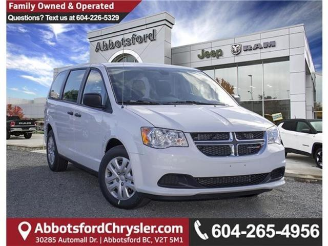 2019 Dodge Grand Caravan CVP/SXT (Stk: K509450) in Abbotsford - Image 1 of 24