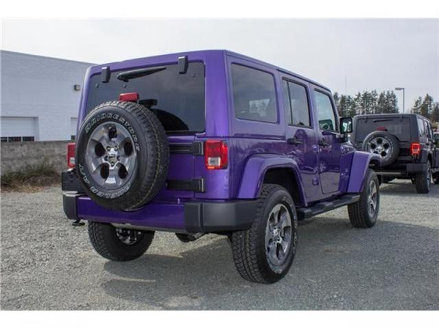 2018 Jeep Wrangler JK Unlimited Sahara (Stk: J863969) in Abbotsford - Image 7 of 25