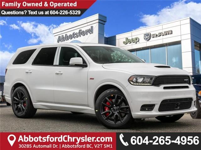 2019 Dodge Durango SRT (Stk: K616175) in Abbotsford - Image 1 of 29