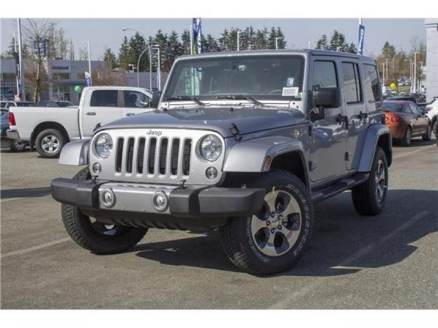 2018 Jeep Wrangler JK Unlimited Sahara (Stk: J863953) in Abbotsford - Image 3 of 25