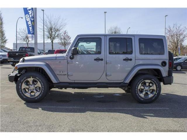 2018 Jeep Wrangler JK Unlimited Sahara (Stk: J863953) in Abbotsford - Image 4 of 25