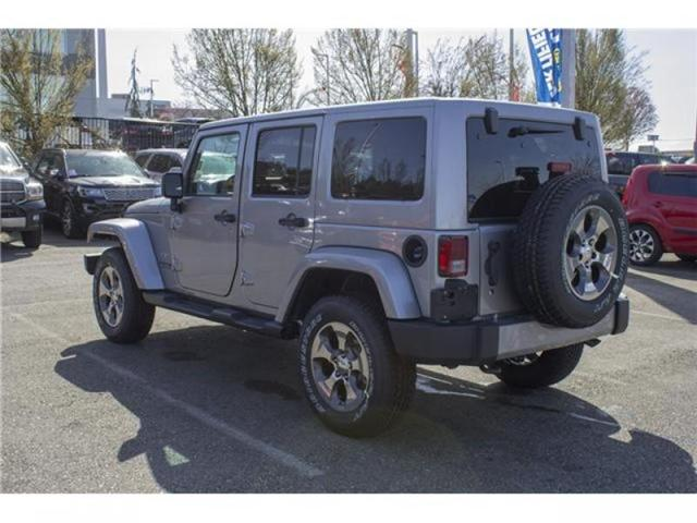2018 Jeep Wrangler JK Unlimited Sahara (Stk: J863953) in Abbotsford - Image 5 of 25